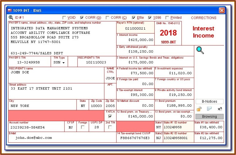 What Is A 1099 Misc Tax Form