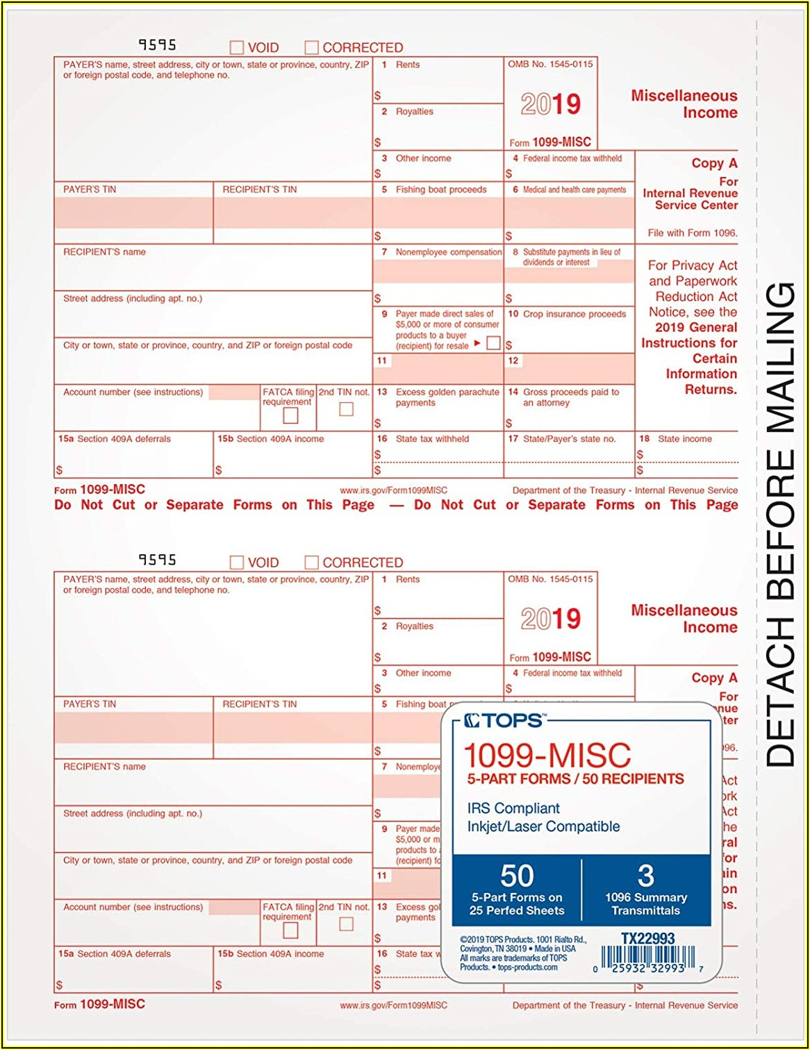 Where Can I Get 1099 Misc Tax Forms