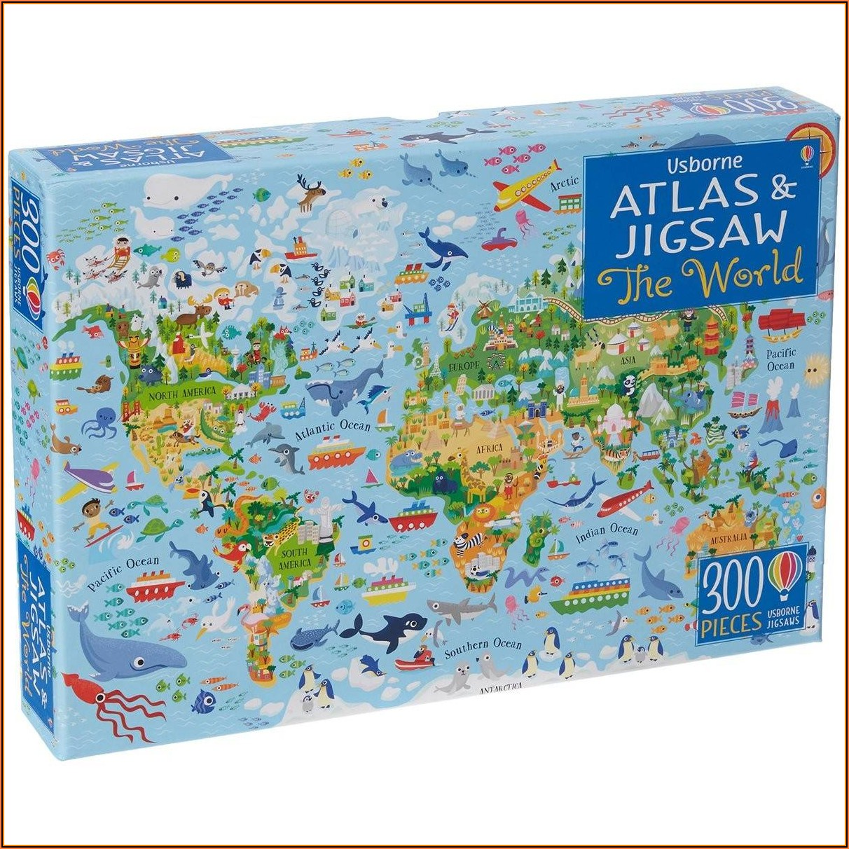 World Map Jigsaw Puzzle Australia