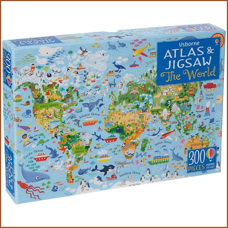 World Map Jigsaw Puzzle Australia