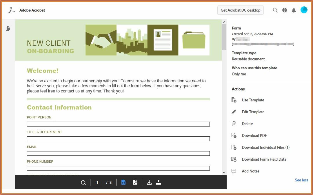 Adobe Formscentral Templates Download