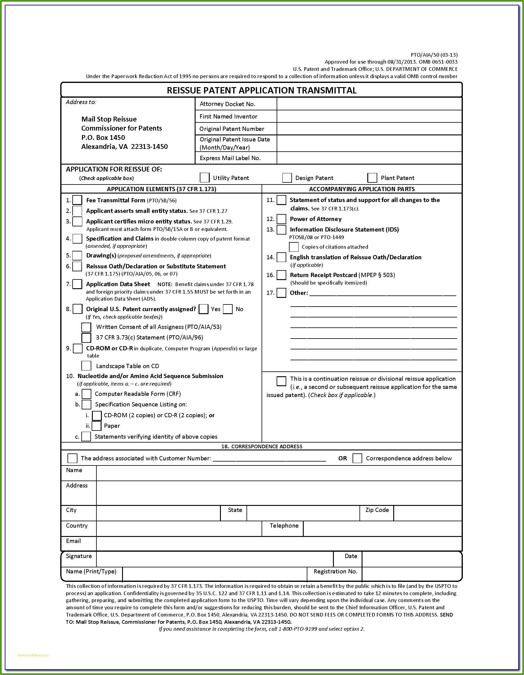 Aia Form G704
