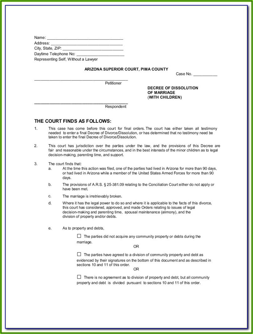 Arizona Llc Dissolution Forms