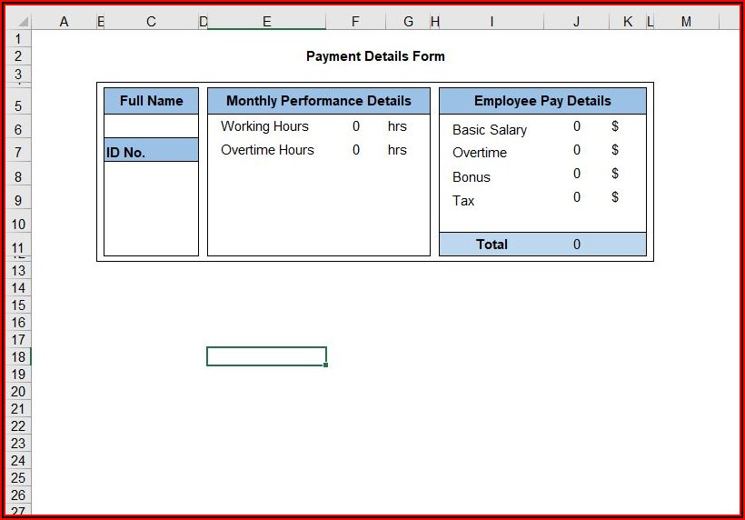 Auto Populate Forms In Excel