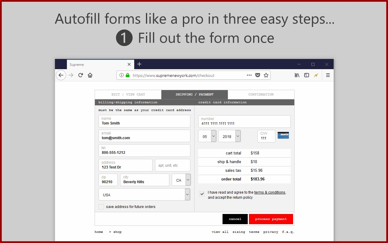 Auto Populate Forms In Word
