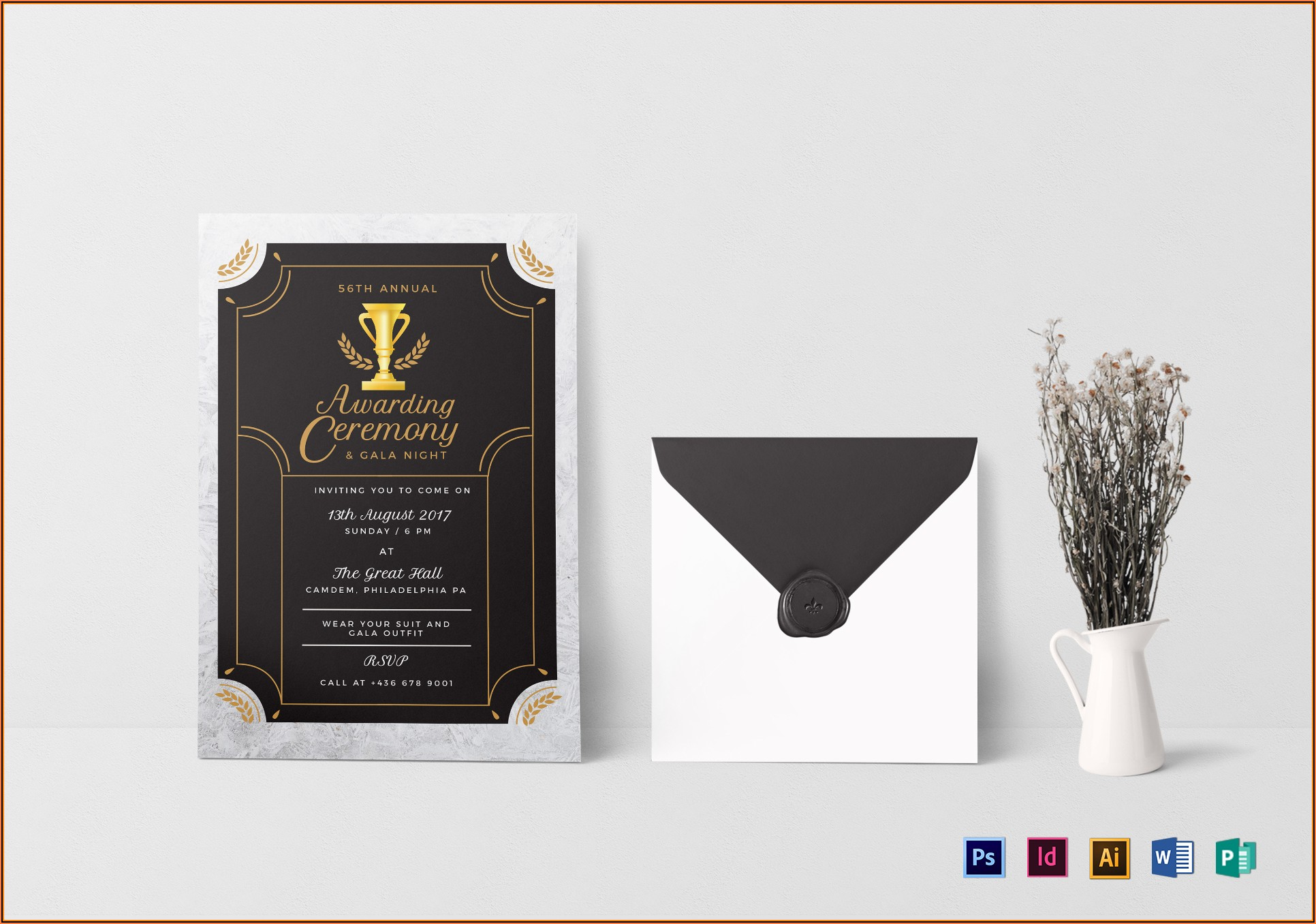 Award Ceremony Invitation Template Free