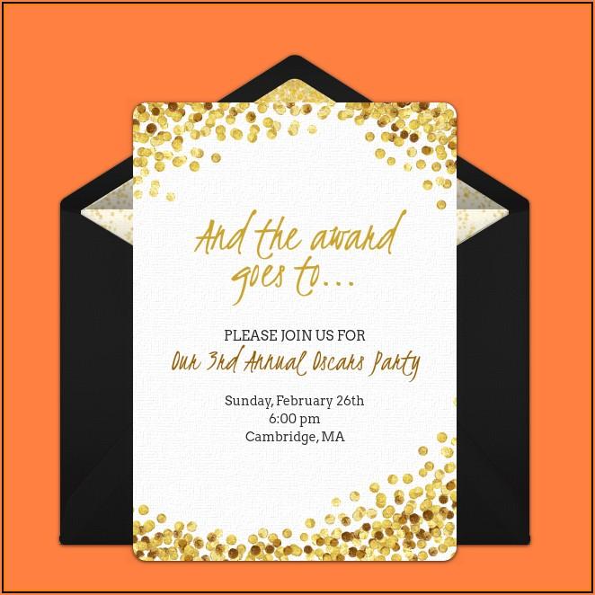 Awards Night Invitation Template Free