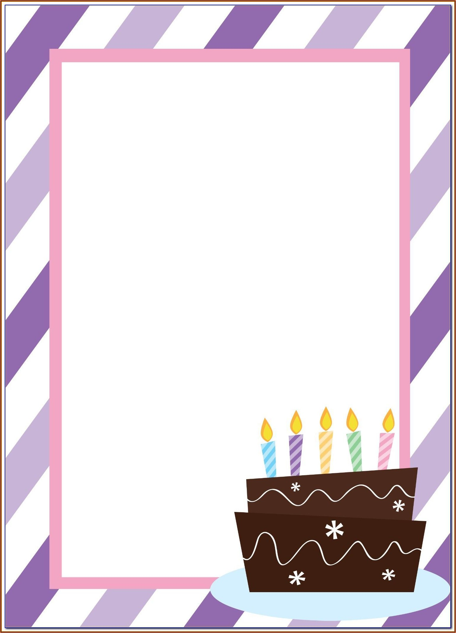 Bumble Bee Birthday Invitation Template Free