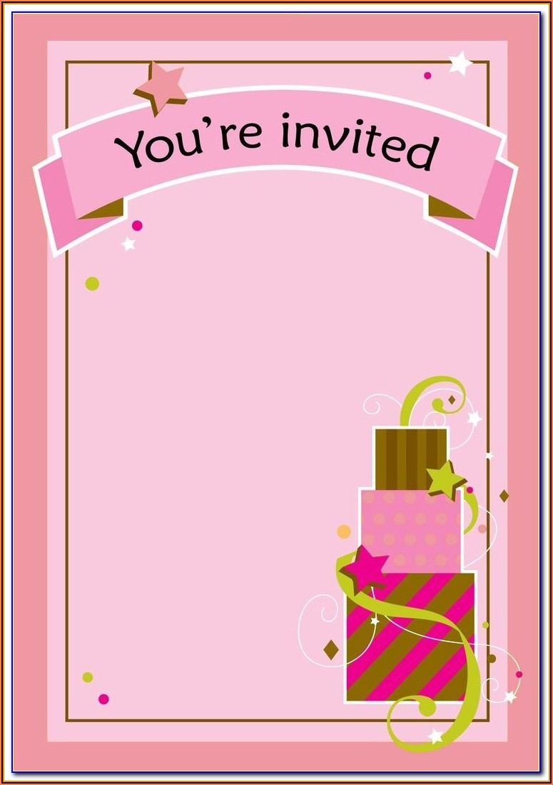 Bumble Bee Invitation Template Free