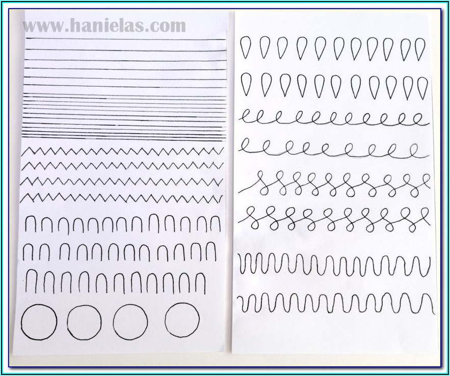 Cake Piping Templates