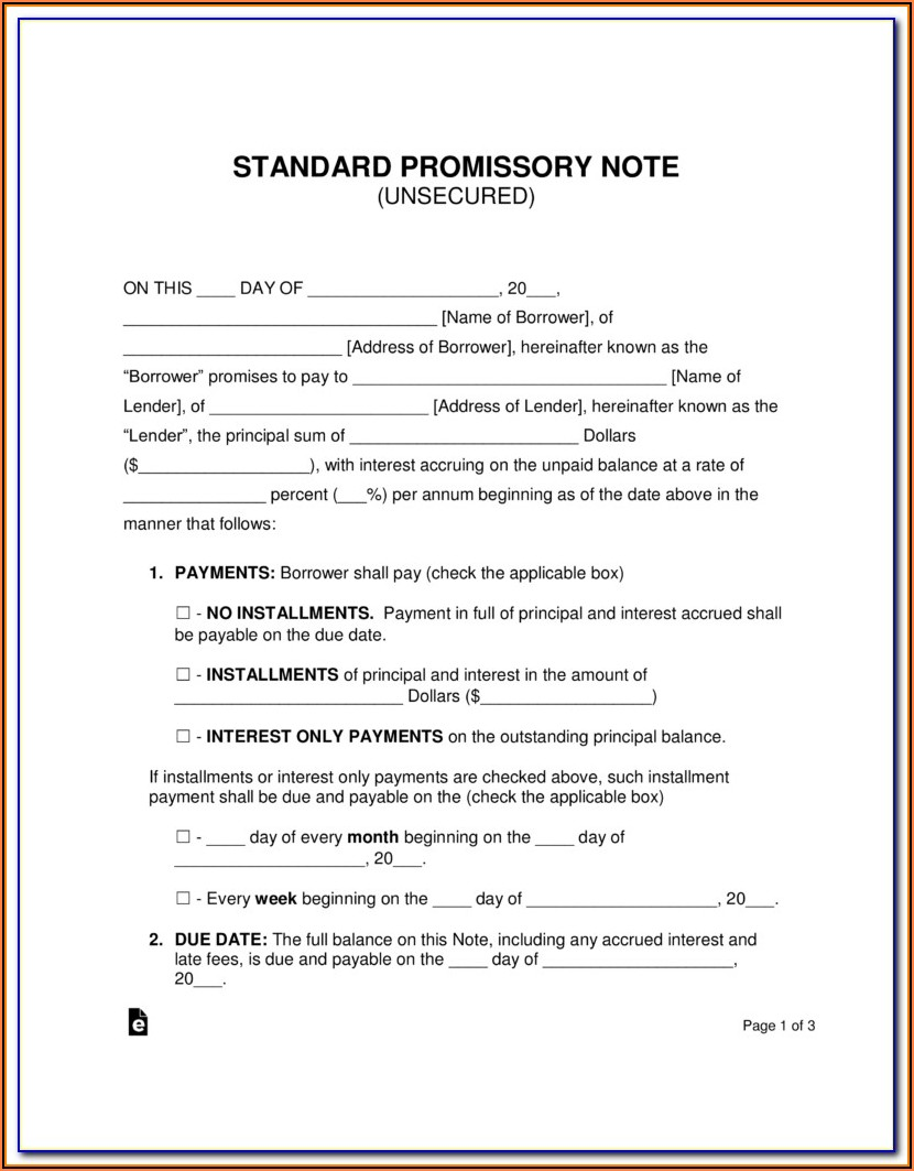 California Demand Promissory Note Form