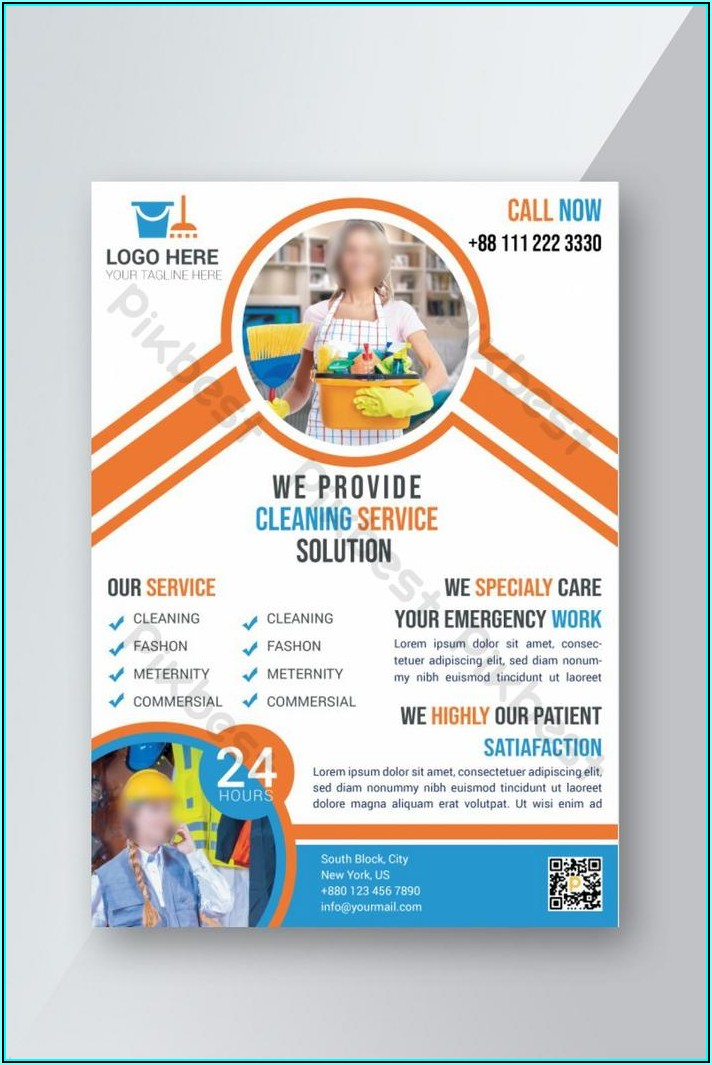 Cleaning Services Flyers Samples Free