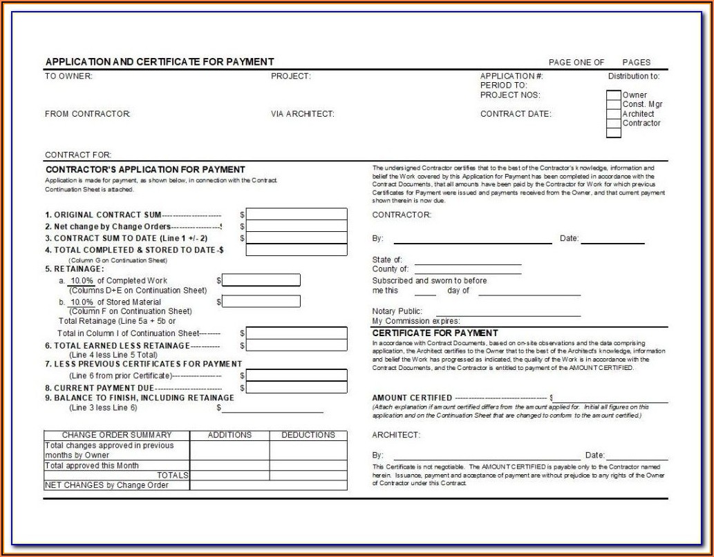 Contractor Contract Example