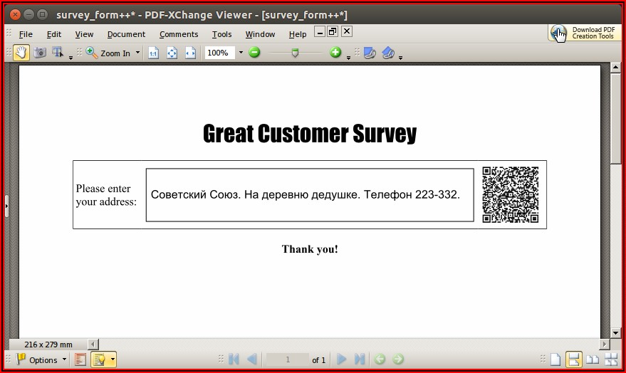 Create Fillable Forms In Pdf Free