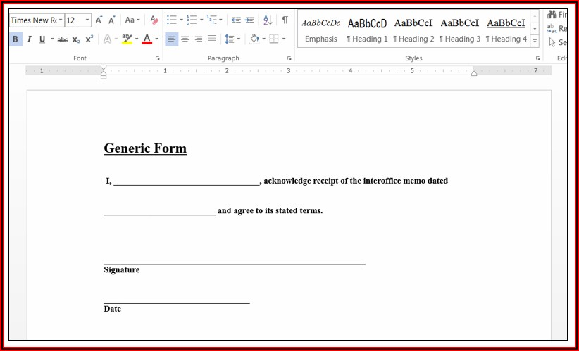 Creating A Fillable Form In Acrobat
