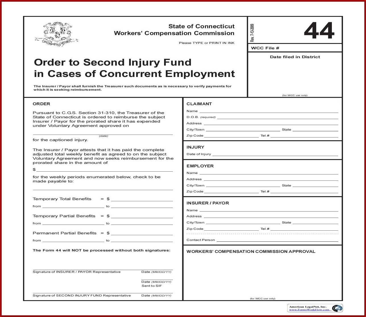 Ct Workers Compensation Mileage Reimbursement Form
