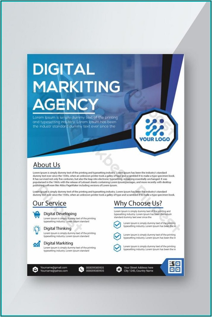 Digital Marketing Flyer Templates Free