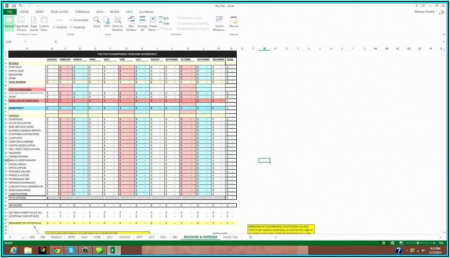 Excel Template Customer Database