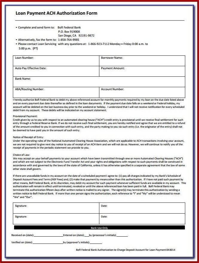 Fema Application Form
