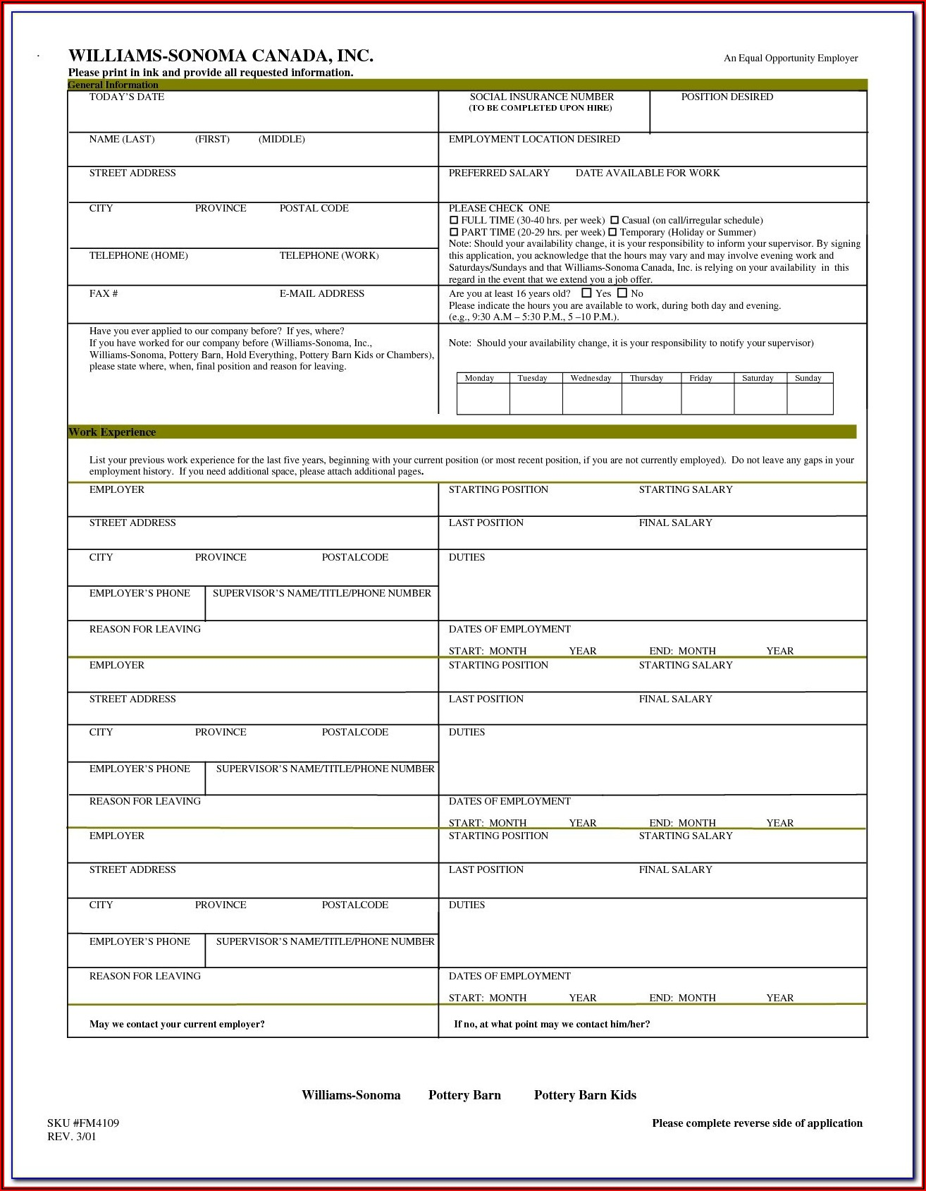 Fema Lomr Application Forms
