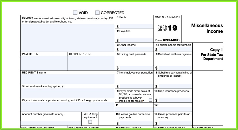 Filing 1099 Forms With Irs