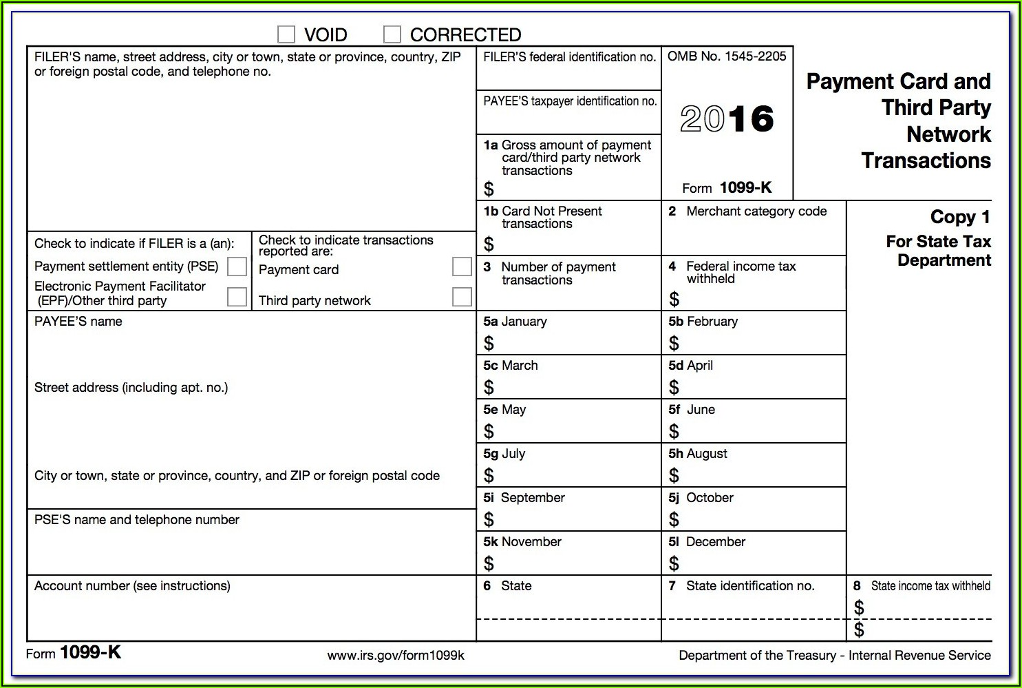 Filing 1099 Forms With State Of California