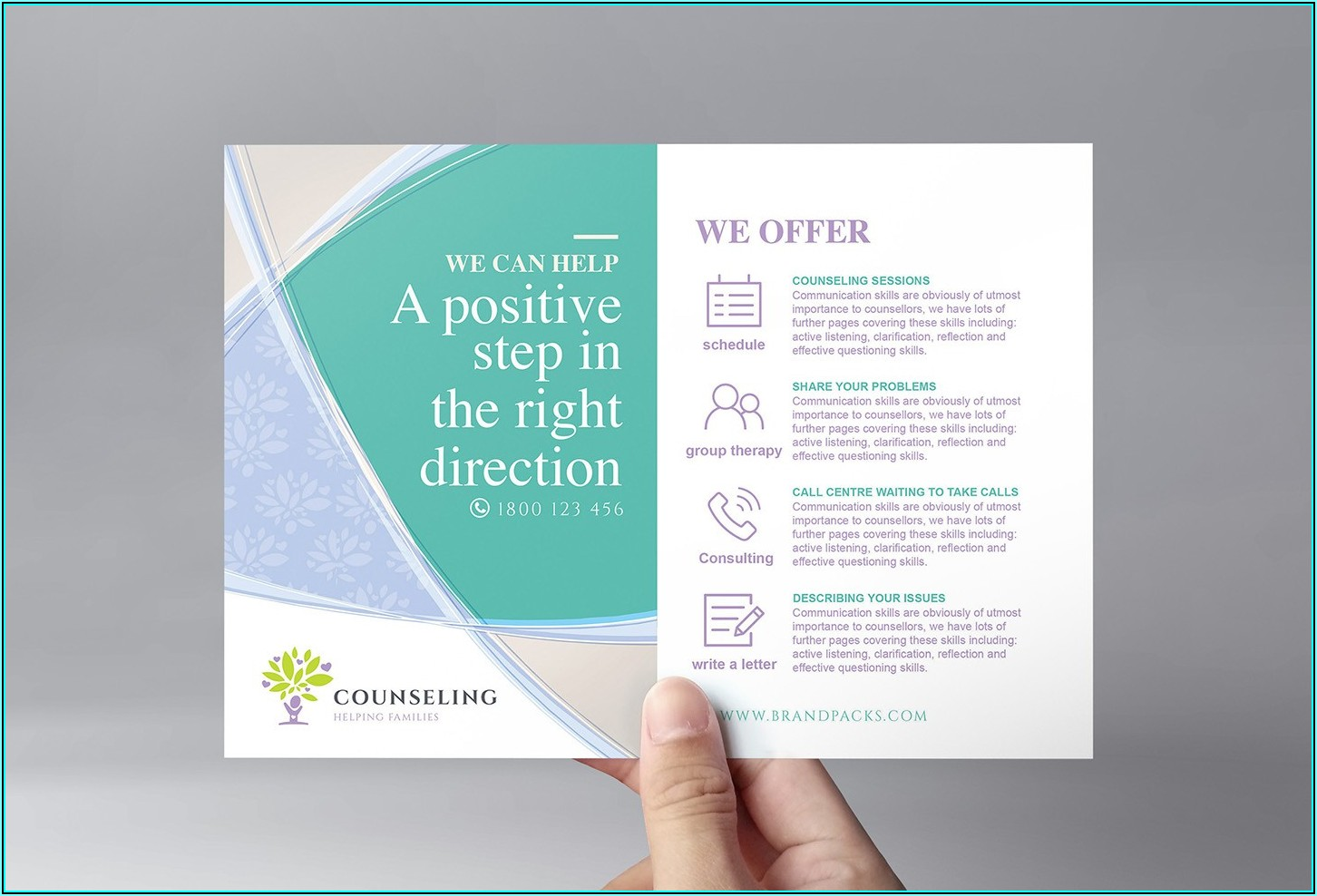 Free Counseling Flyer Template