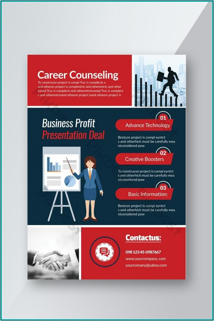 Free Counseling Flyer Templates Word