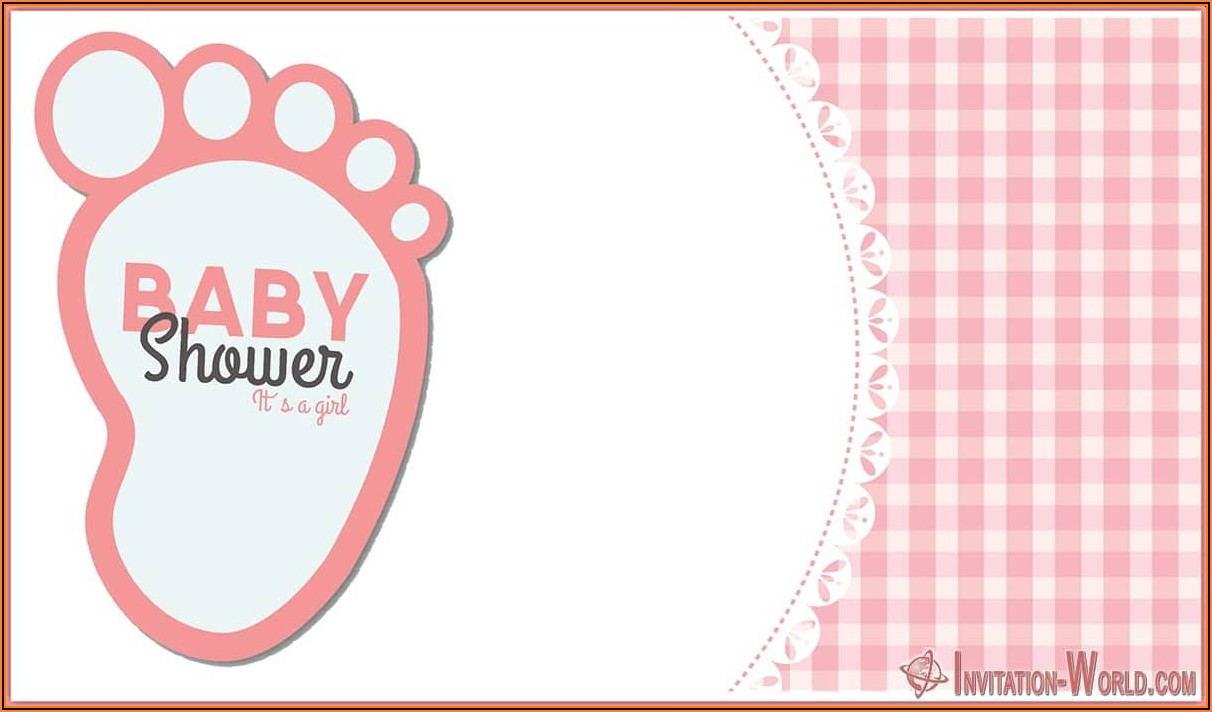 Free Editable Digital Baby Shower Invitation Templates