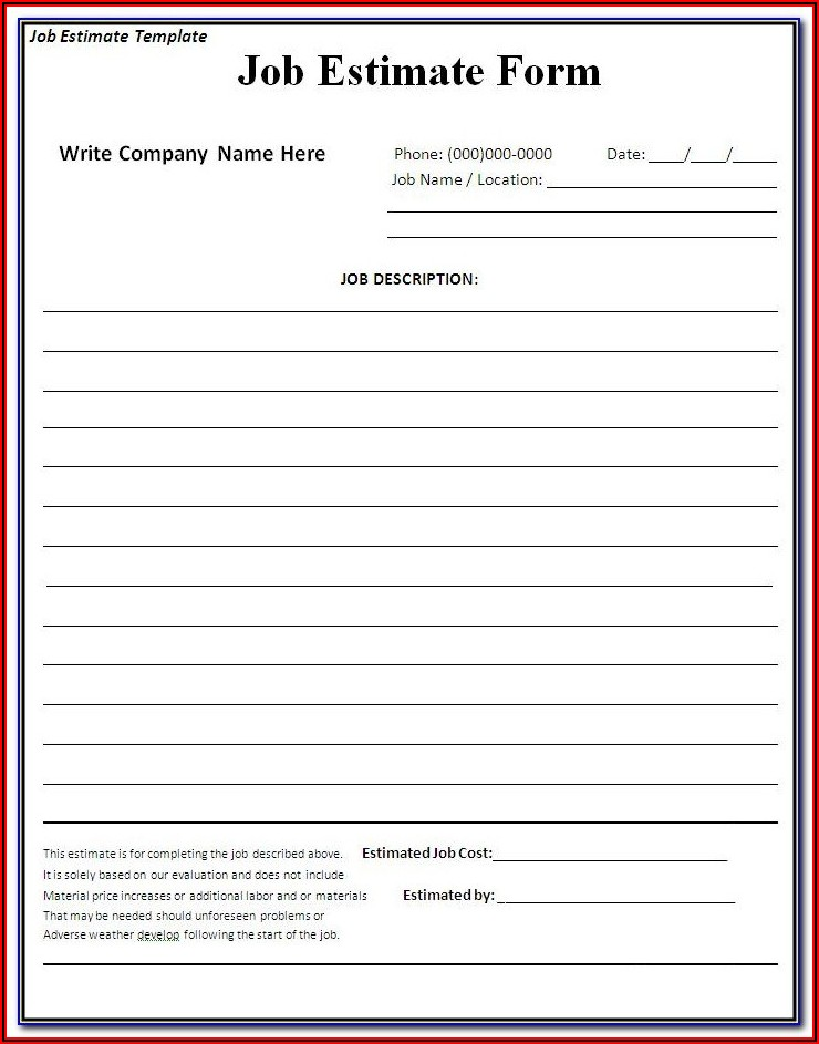 Free Receipt Forms To Print