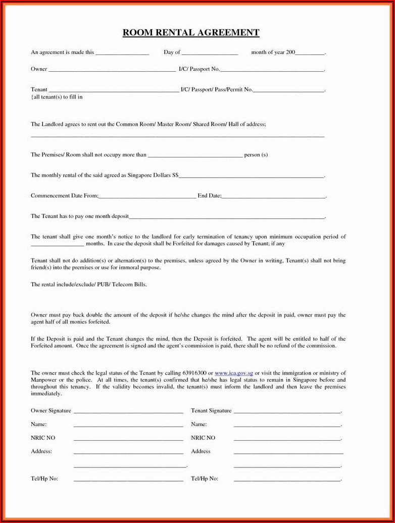 Free South Carolina Residential Rental Agreement Form 410
