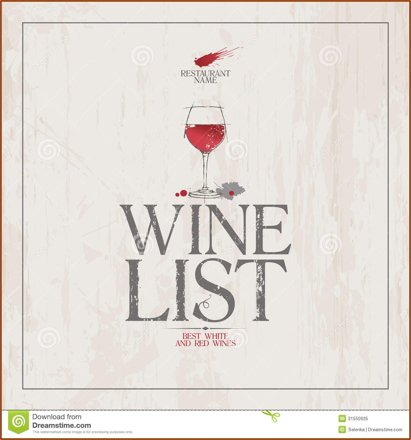Free Wine Menu Template Downloads