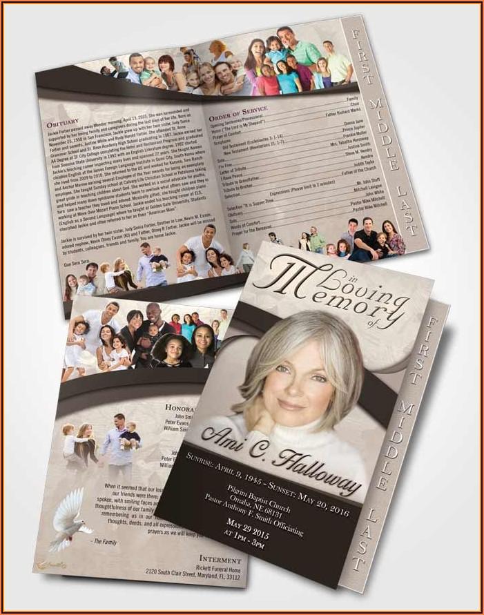 Funeral Programs Templates