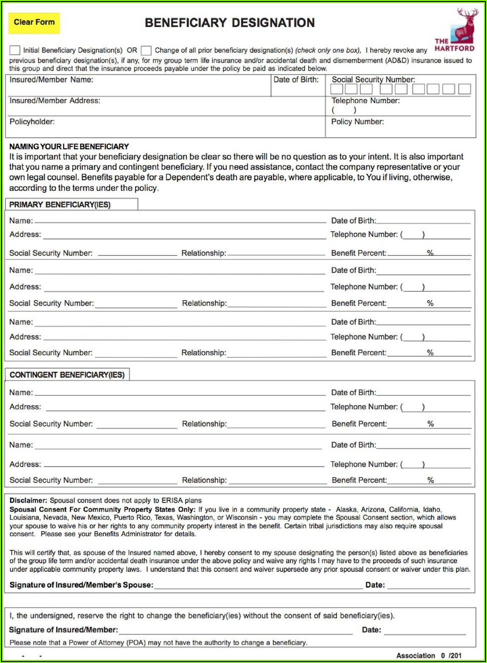 Hartford Life And Annuity Insurance Company Forms