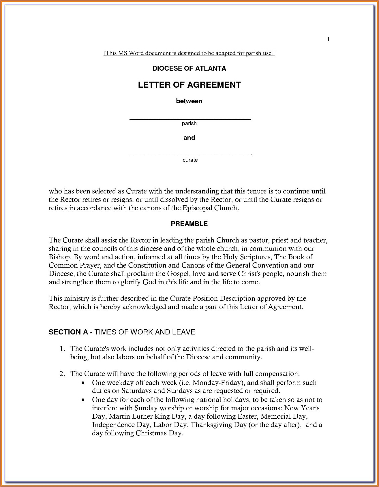 Home Buyout Agreement Form