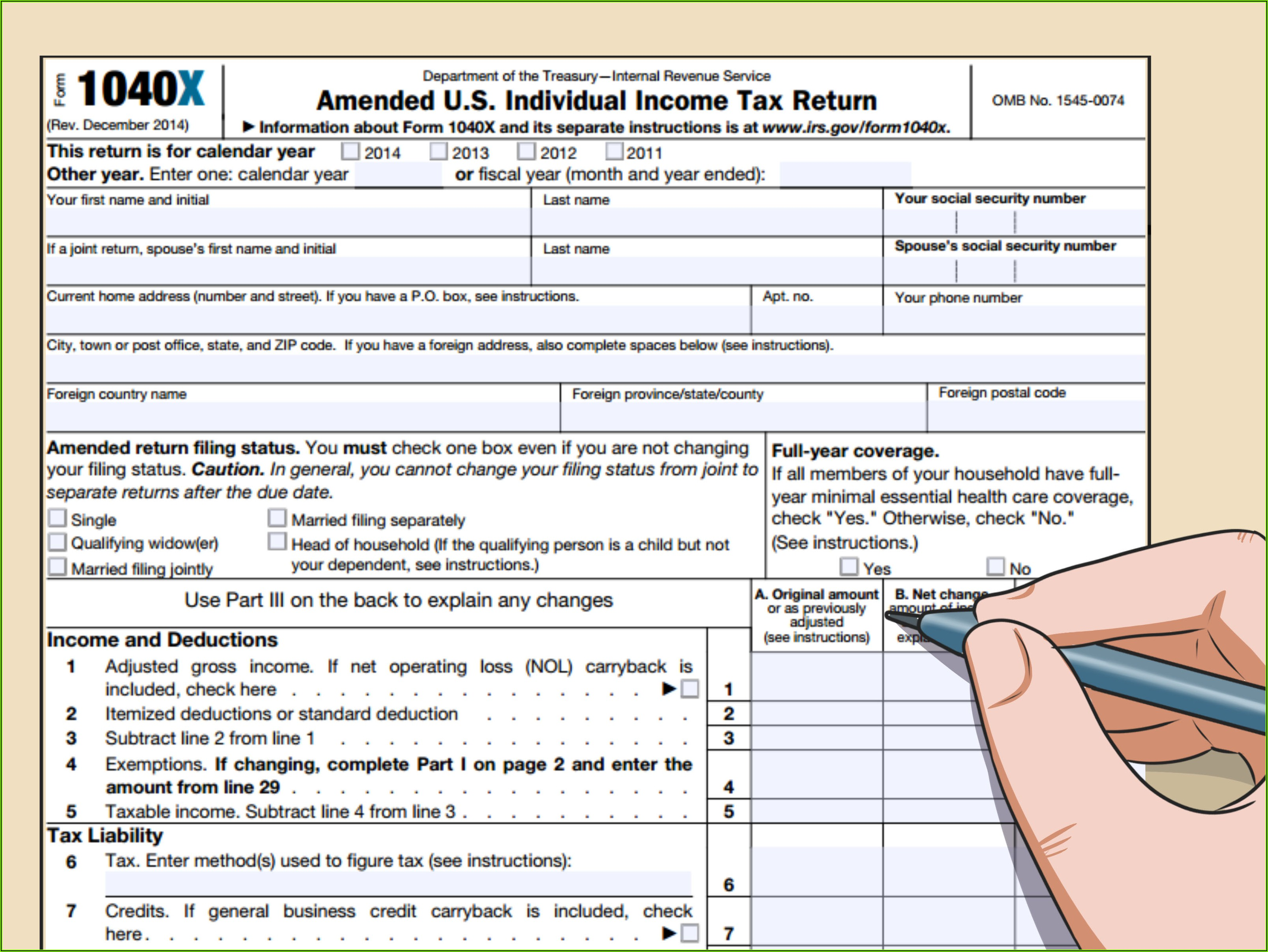 Irs W2 Transcript Request Form