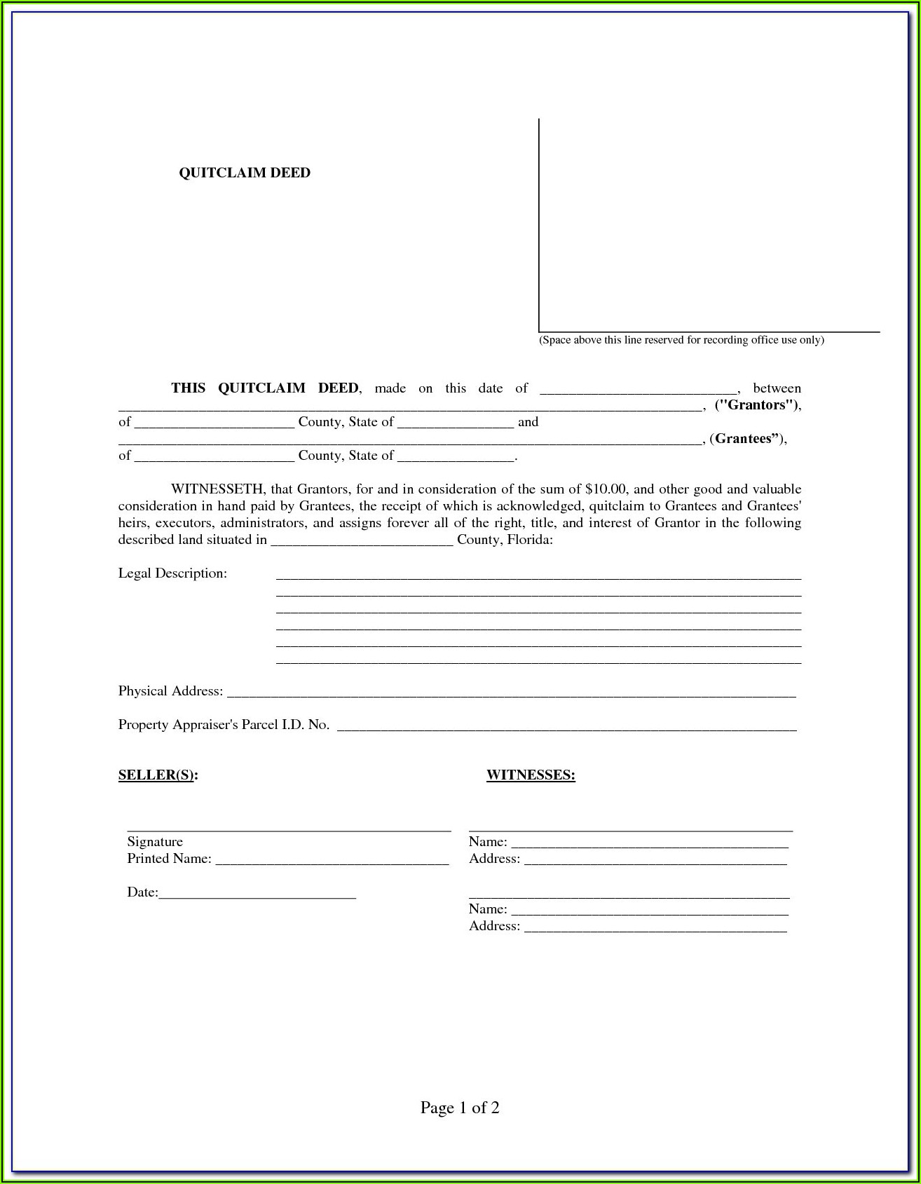 Lake County Florida Divorce Forms
