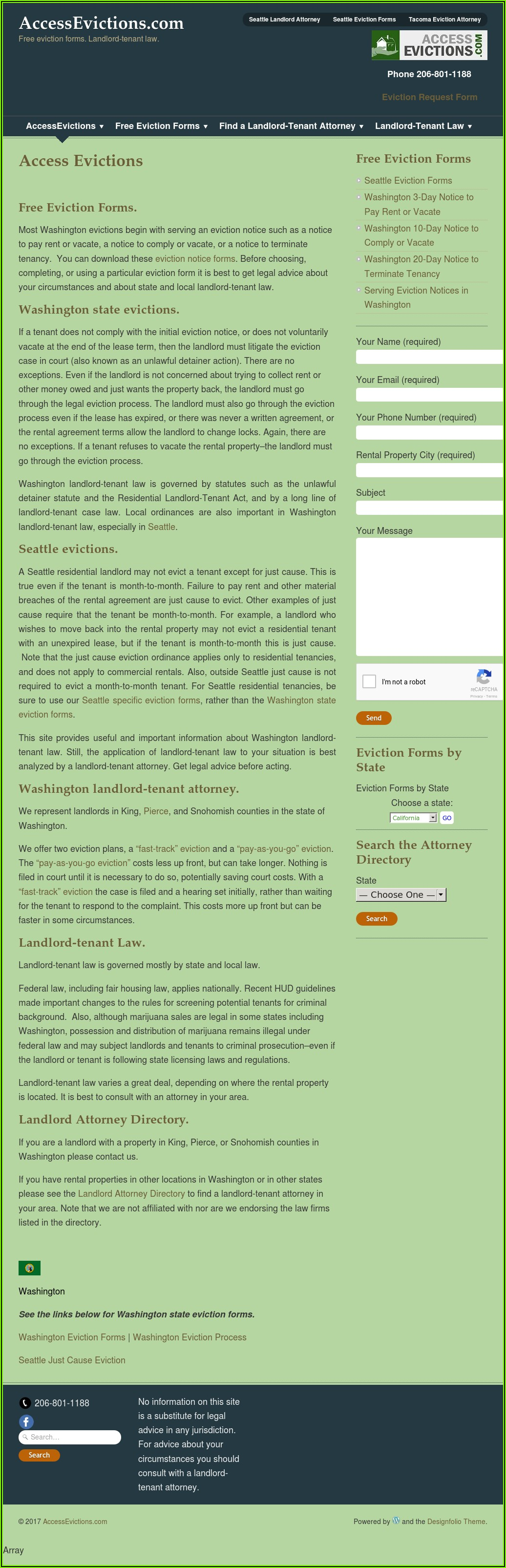 Landlord Tenant Eviction Forms