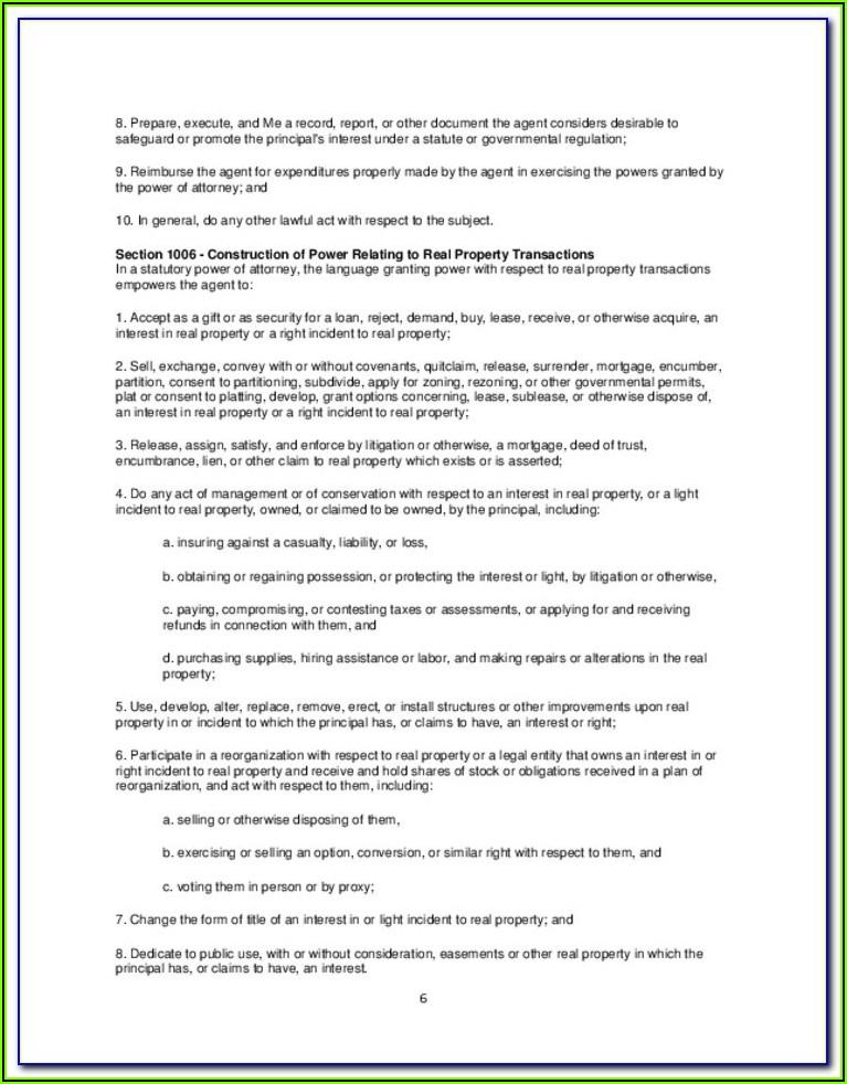 Ohio Bar Association Financial Power Of Attorney Form