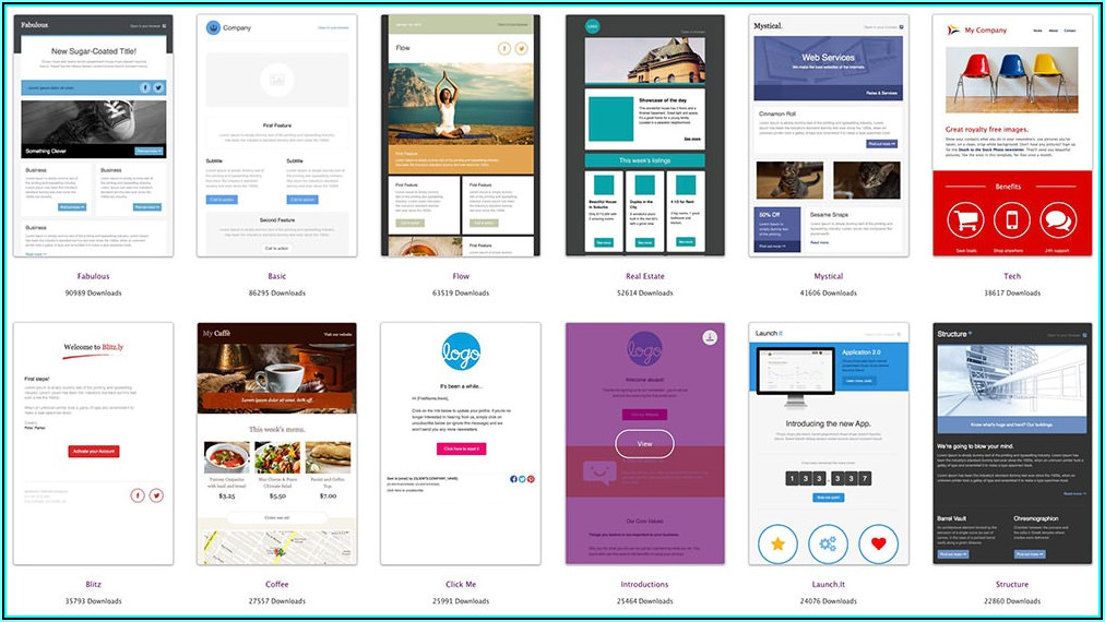 Outlook Html Email Template Free Download