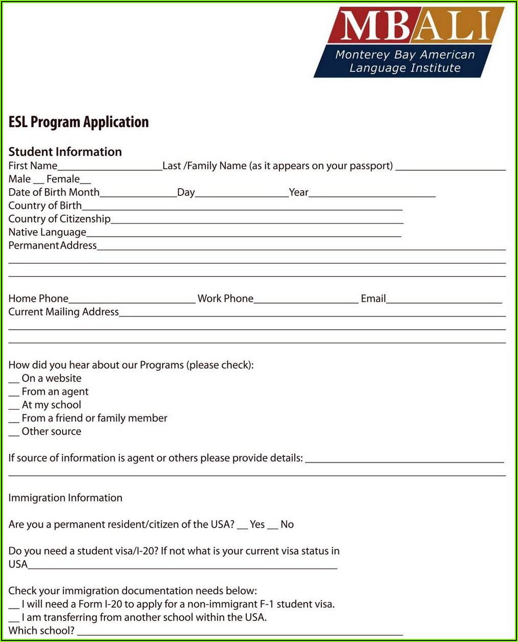 Printable Social Security Disability Application Form