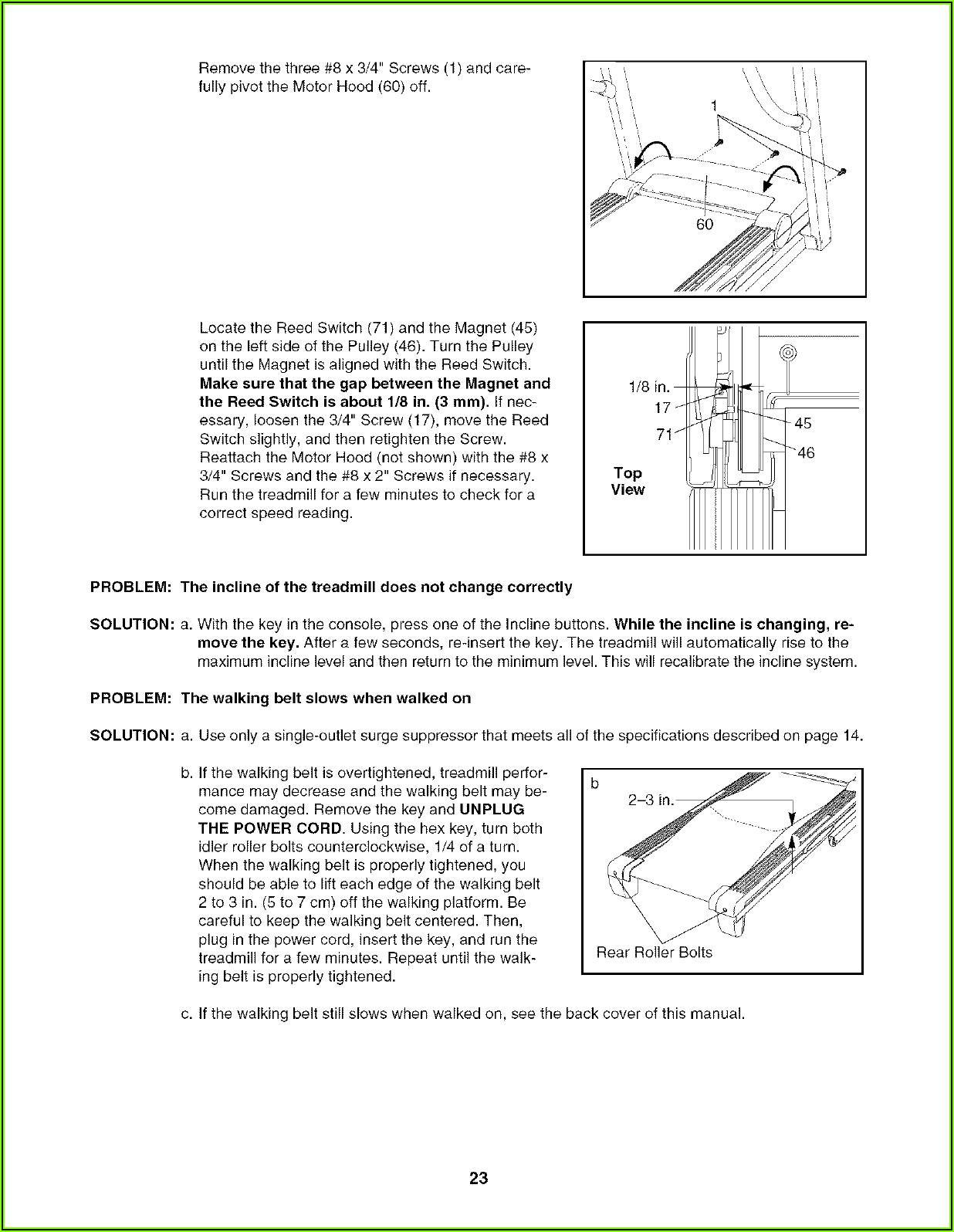 Proform Xp Trainer 580 Manual