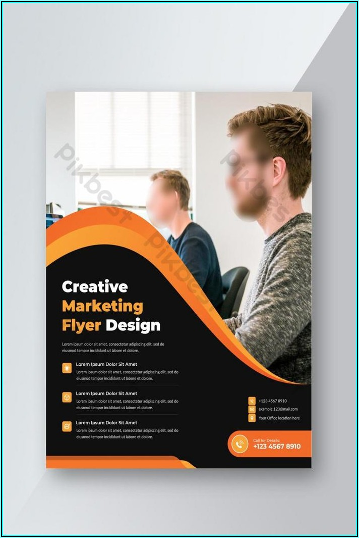 Promotional Flyer Template Free
