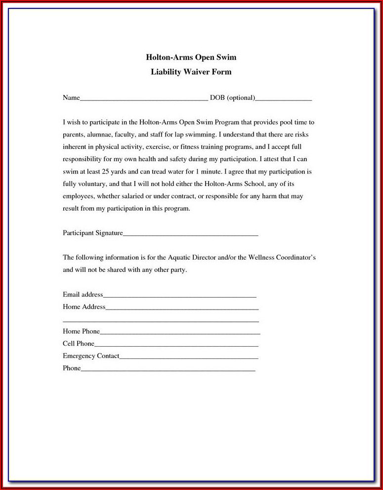 Release Form For Filming Template