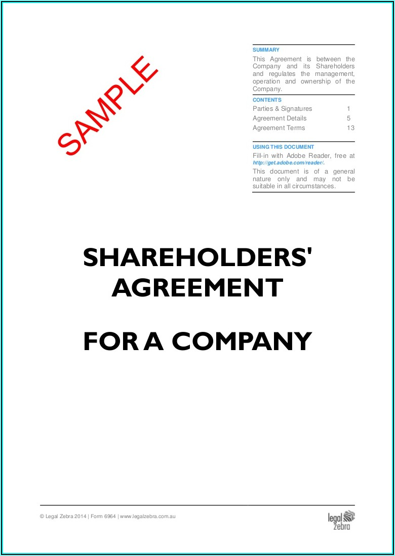 Shareholder Note Payable Template
