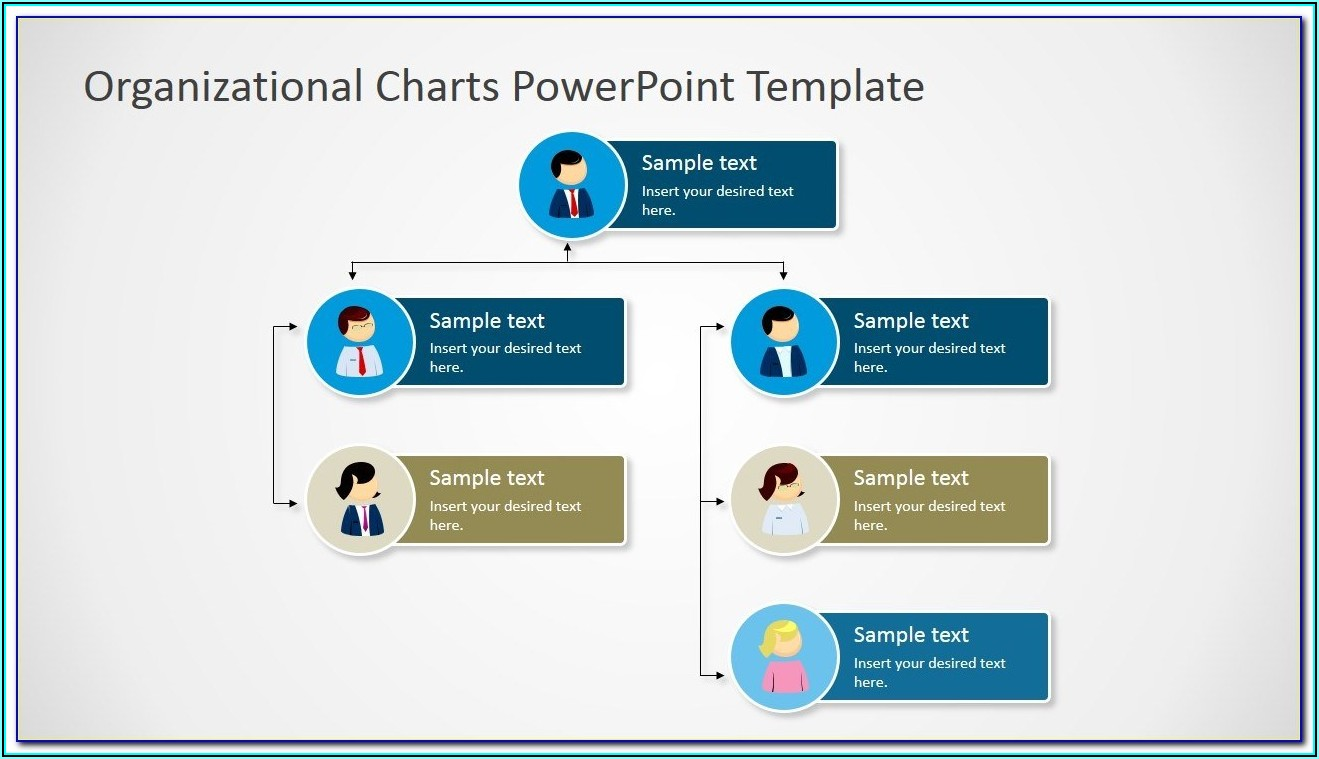 Simple Org Chart Template Free