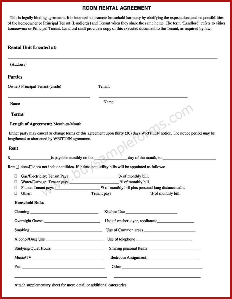 Simple Rental Form