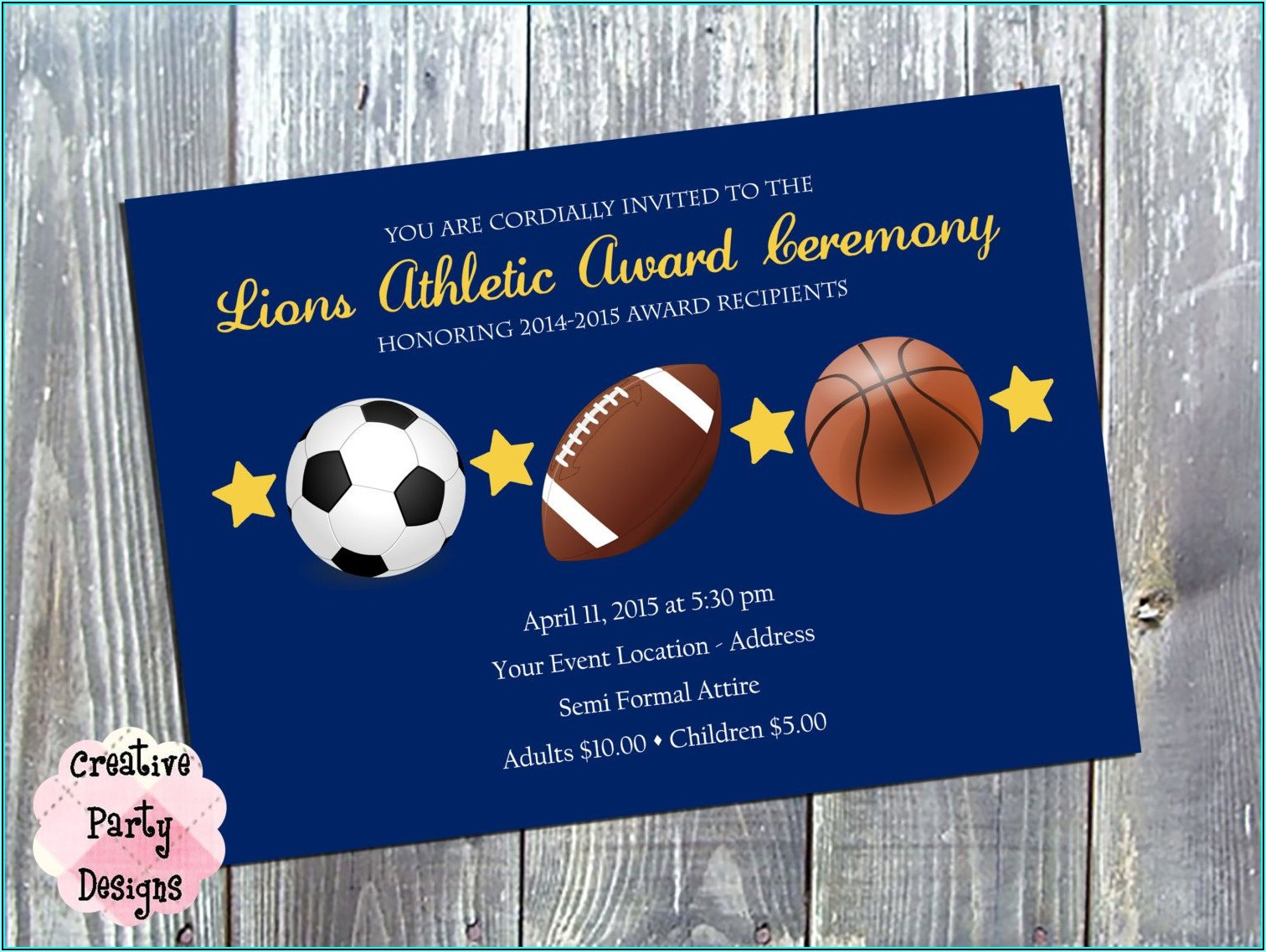 Sports Banquet Invitation Templates Free
