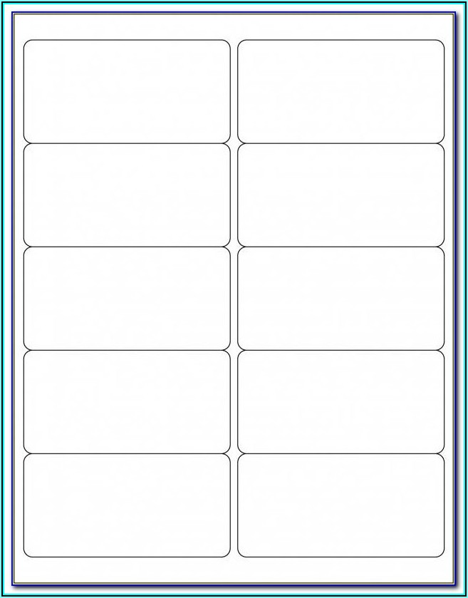 Staples Labels Template 5161