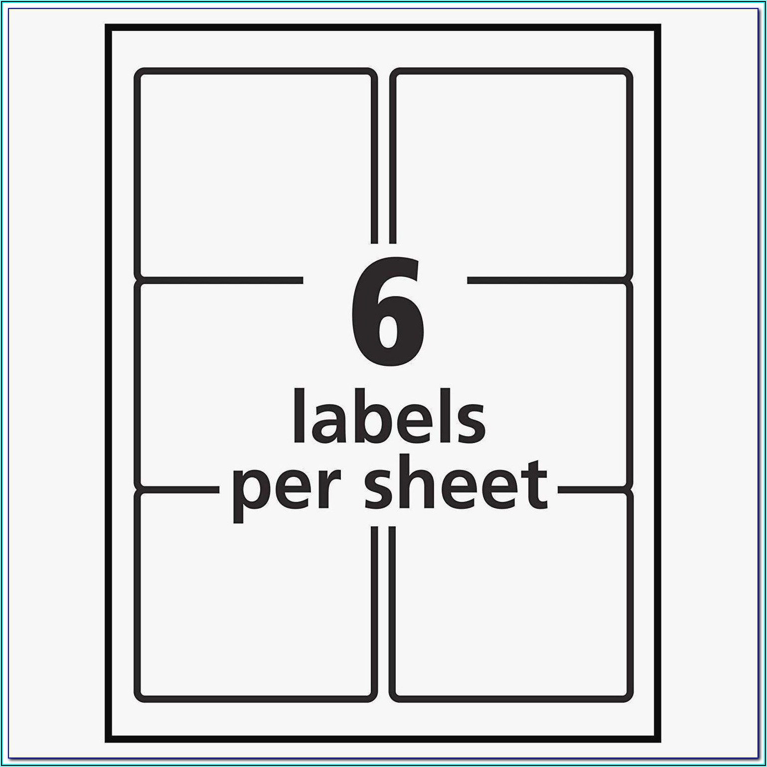 Staples Labels Template 5164